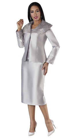 Tally Taylor Suit 4701-Silver