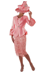 Tally Taylor Suit 4714-Light Pink - Church Suits For Less