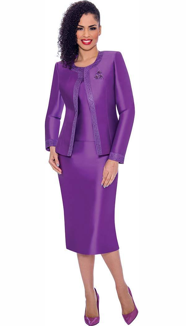 Terramina Suit 7637-Purple - Church Suits For Less