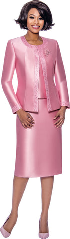 Terramina Suit 7637-Pink - Church Suits For Less
