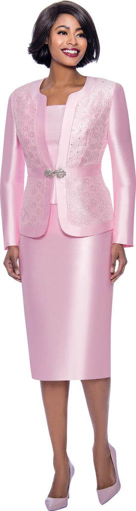 Terramina Suit 7726-Pink - Church Suits For Less