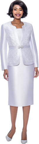 Terramina Suit 7726-White