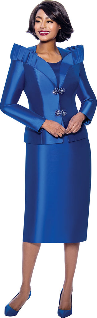 Terramina Suit 7811-Royal - Church Suits For Less