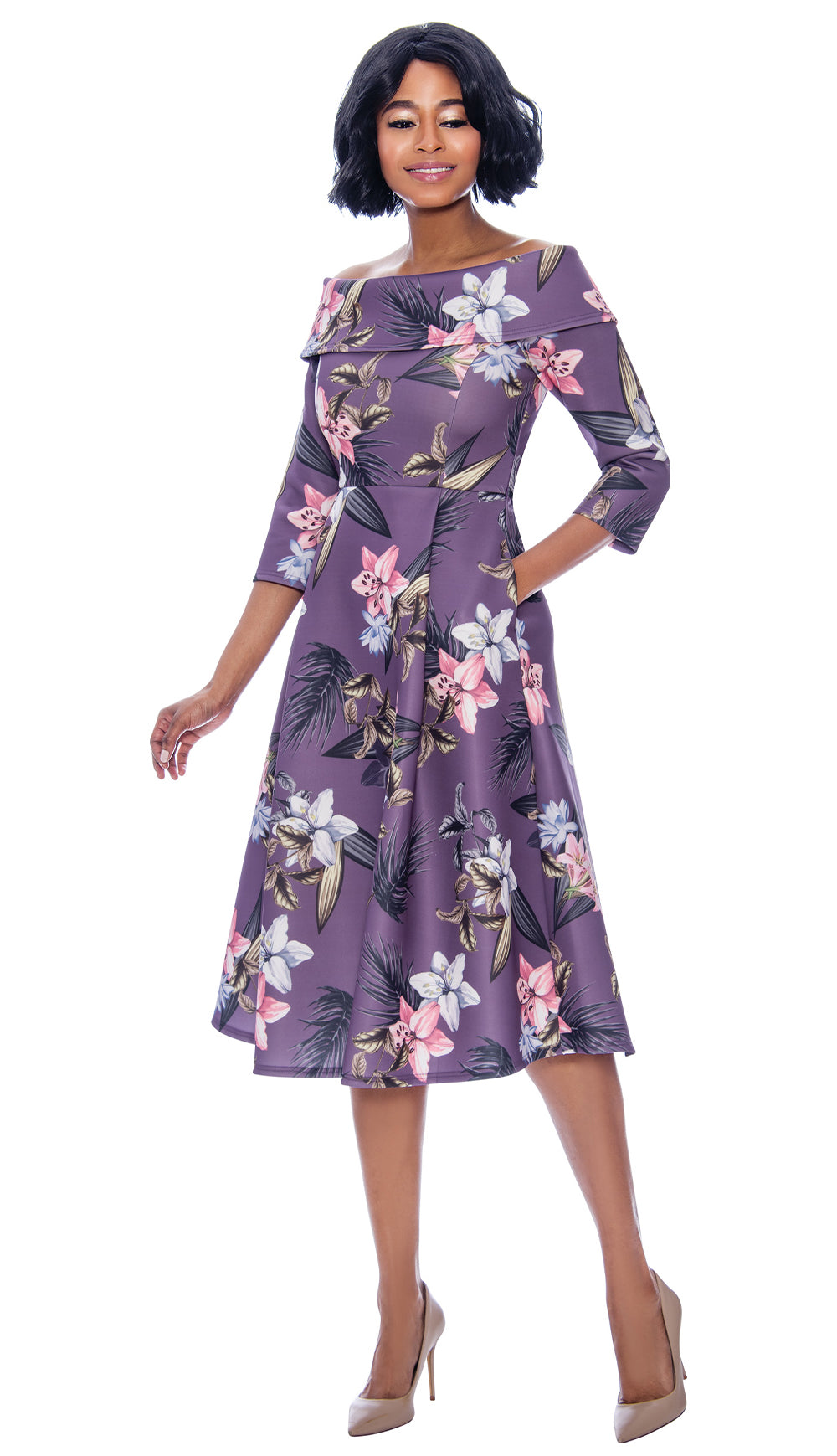 Terramina Dress 7854 - Church Suits For Less