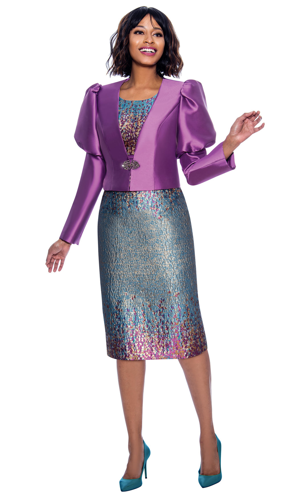 Terramina Jacket Dress 7873 - Church Suits For Less