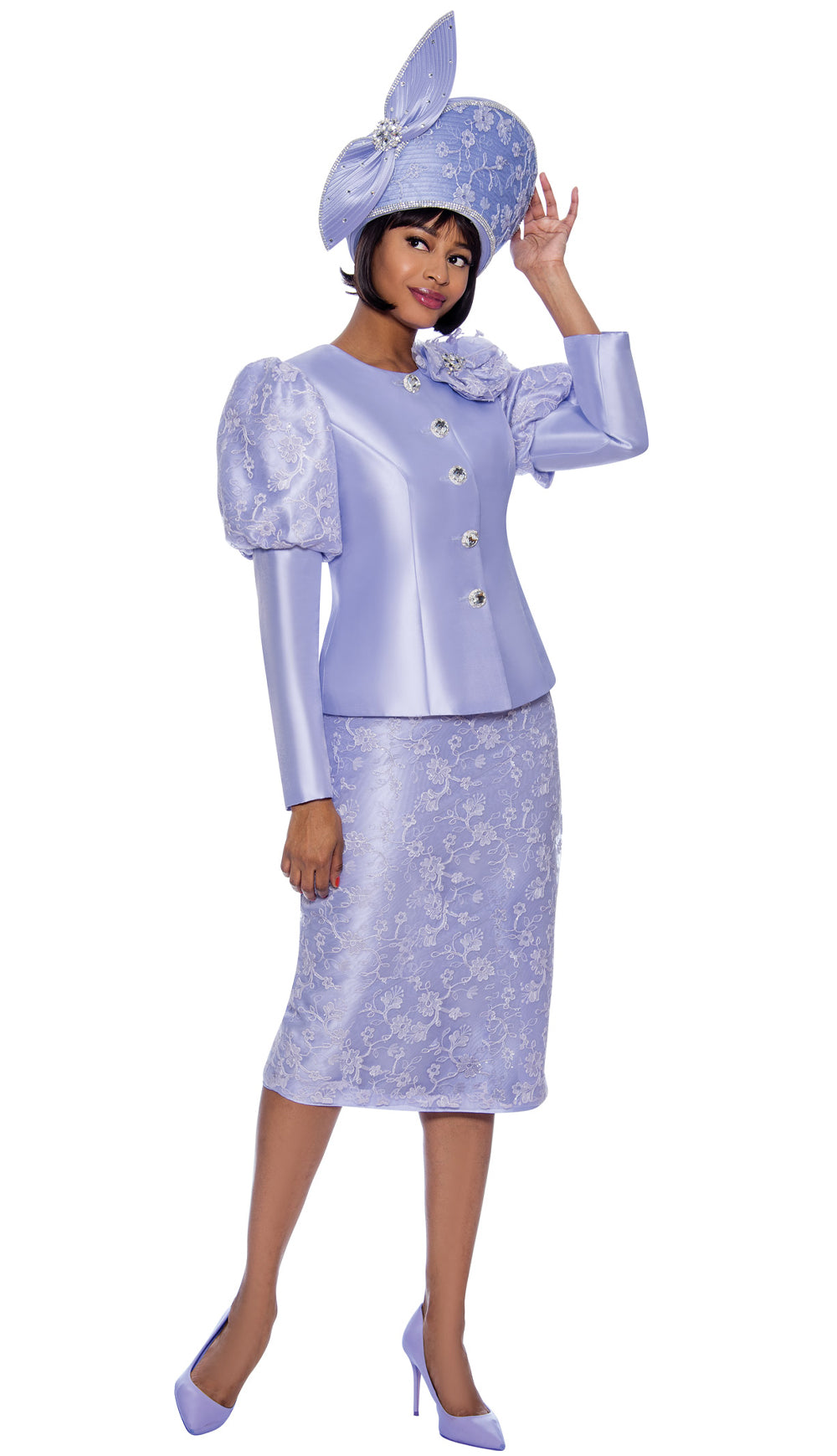 Terramina Suit 7834-Lilac - Church Suits For Less