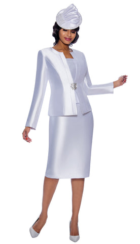 Terramina Suit 7874-White