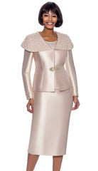 Terramina Suit 7888-Champagne - Church Suits For Less
