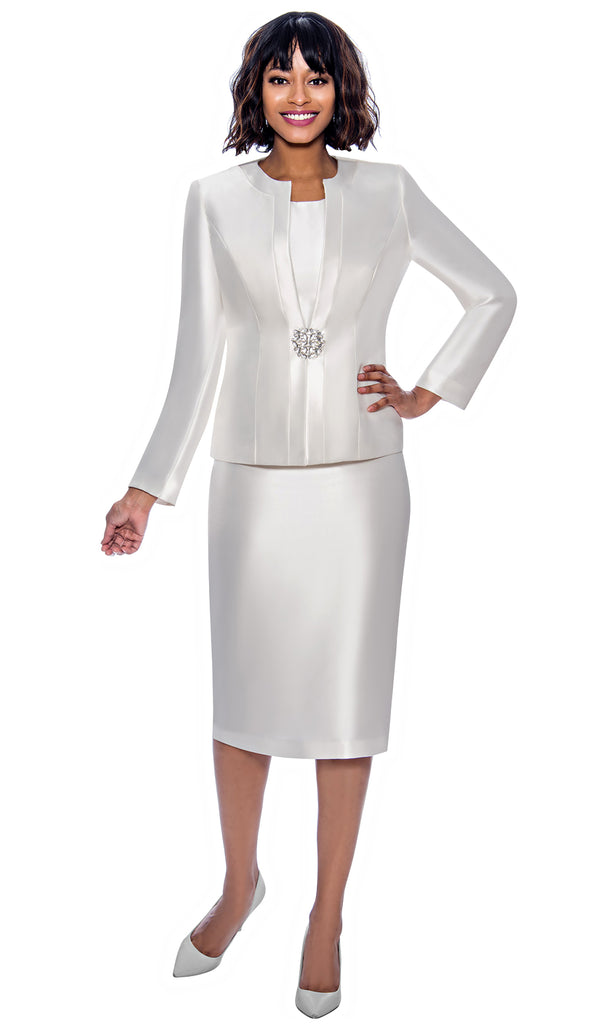 Terramina Suit 7874-Ivory - Church Suits For Less