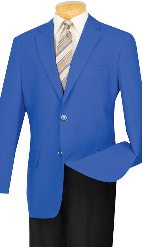 Vinci Sport Coat Z-2PP-Royal Blue - Church Suits For Less