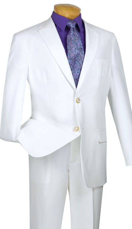 Vinci Sport Coat Z-2PP-White - Church Suits For Less