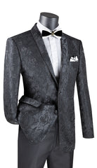 Vinci Sport Jacket BSF-10-Black - Church Suits For Less