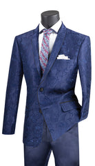 Vinci Sport Jacket BSF-10-Navy - Church Suits For Less