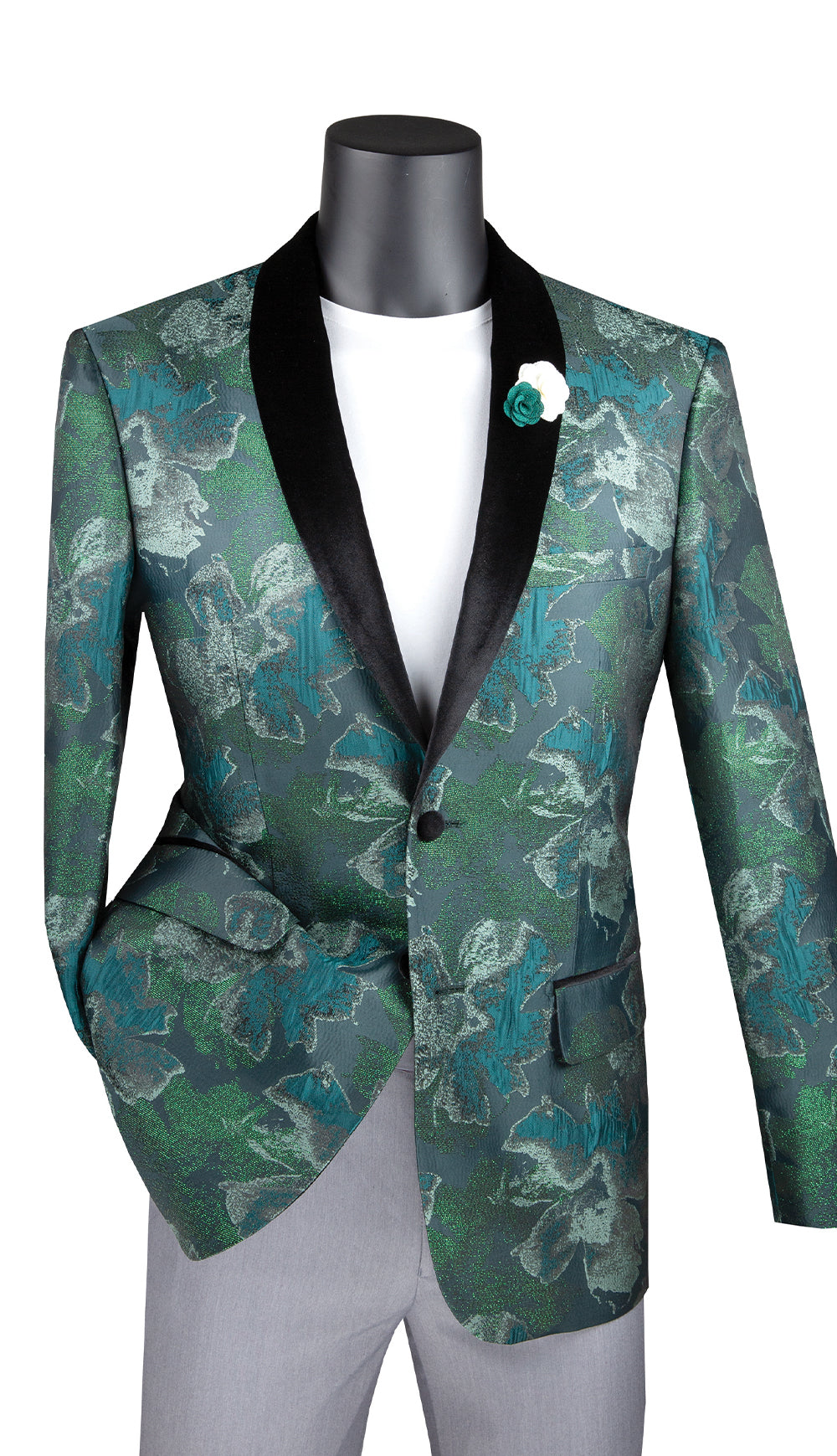 Vinci Sport Jacket BSF-11-Emerald - Church Suits For Less