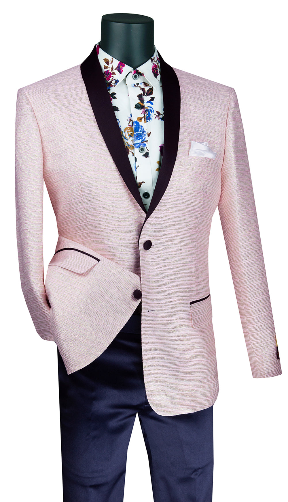 Vinci Sport Coat BSF-12-Pink - Church Suits For Less