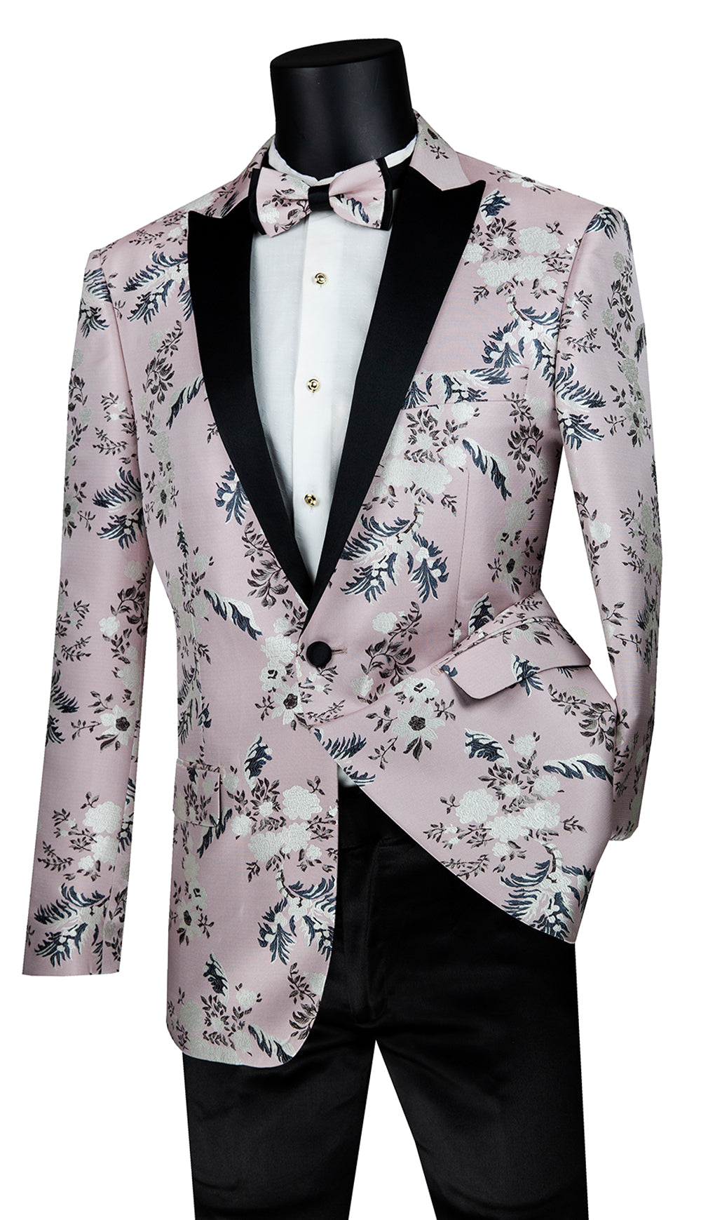 Vinci Sport Coat BSF-14-Pink - Church Suits For Less