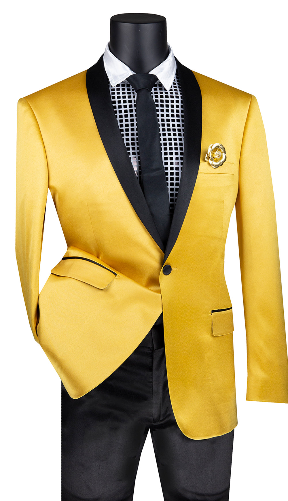 Vinci Sport Coat BST-1-Gold - Church Suits For Less