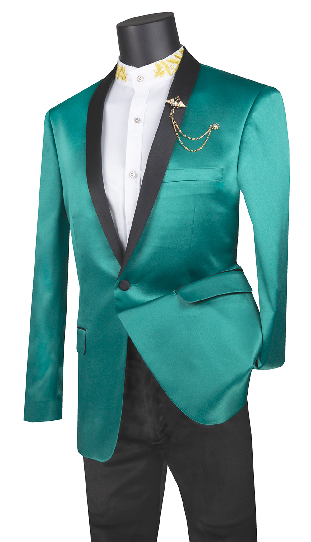 Vinci Sport Coat BST-1-Green - Church Suits For Less