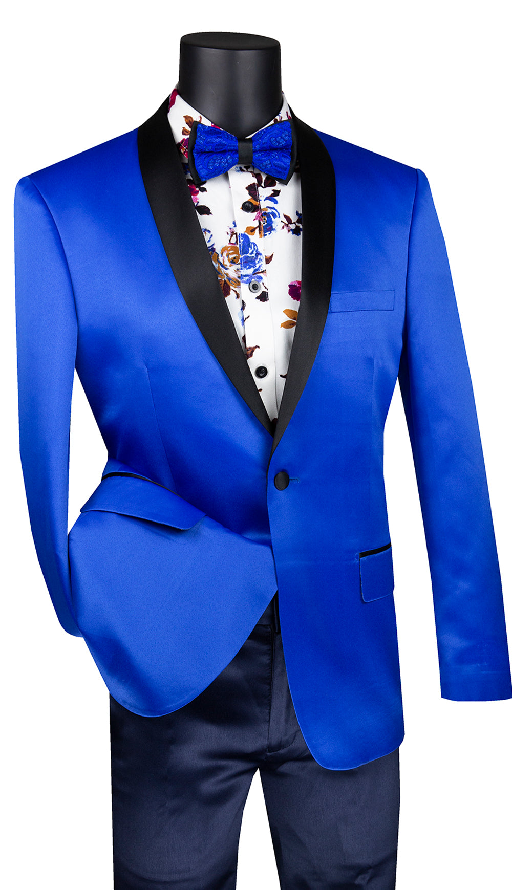 Vinci Sport Coat BST-1-Royal Blue - Church Suits For Less
