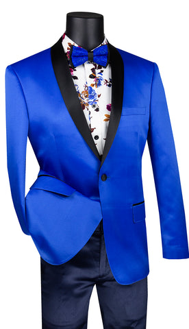Vinci Sport Coat BST-1-Royal Blue