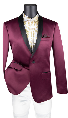 Vinci Sport Coat BST-1-Wine