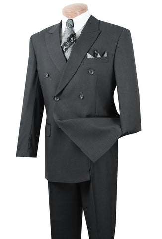 Vinci Suit DPP-Charcoal - Church Suits For Less