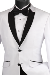 Vinci Suit S2PS-1-White - Church Suits For Less
