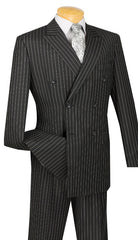 Vinci Suit DSS-4-Black - Church Suits For Less