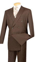 Vinci Suit DSS-4-Brown - Church Suits For Less