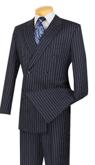 Vinci Suit DSS-4-Navy Blue - Church Suits For Less