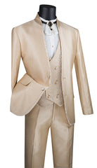 Vinci Suit SV2HT-2-Beige - Church Suits For Less