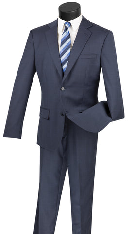 Vinci Men Suit 2WWP1-Navy