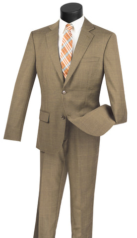 Vinci Men Suit 2WWP1-Taupe