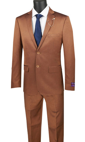 Vinci Men Suit US2R-2-Amber - Church Suits For Less