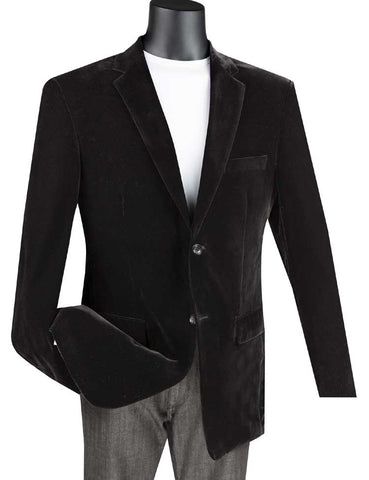 Vinci Sport Coat B-27-Black
