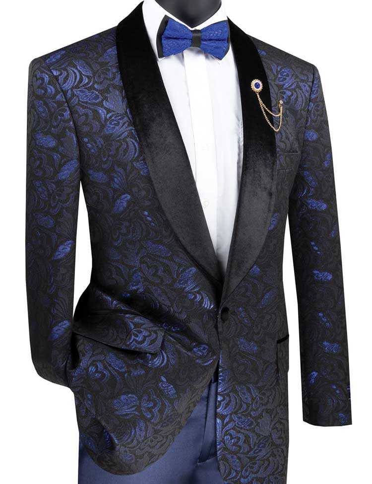 Vinci Sport Jacket BF-1-Sapphire - Church Suits For Less