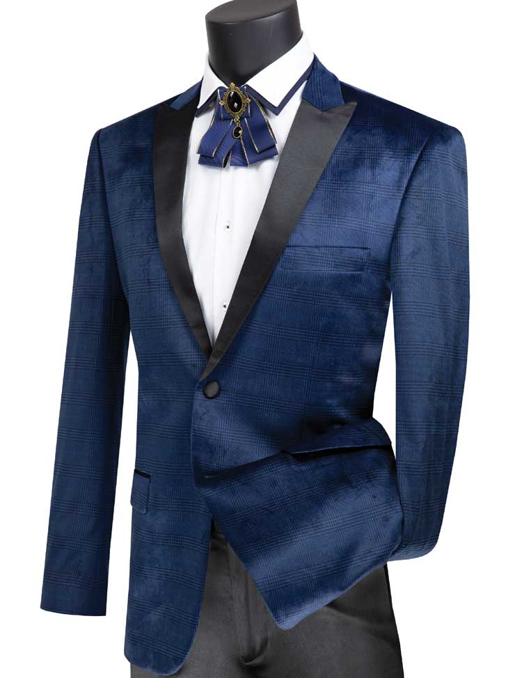 Vinci Sport Jacket BS-14-Navy - Church Suits For Less