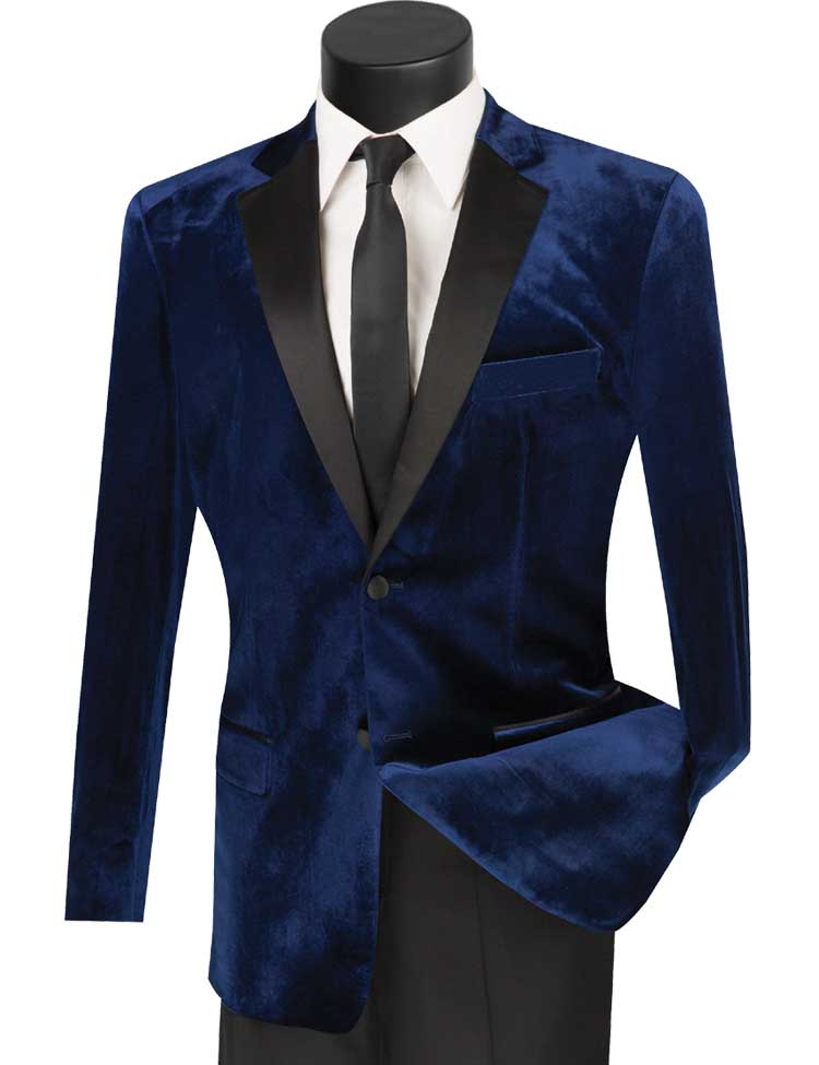 Vinci Tuxedo T-SV-Navy - Church Suits For Less