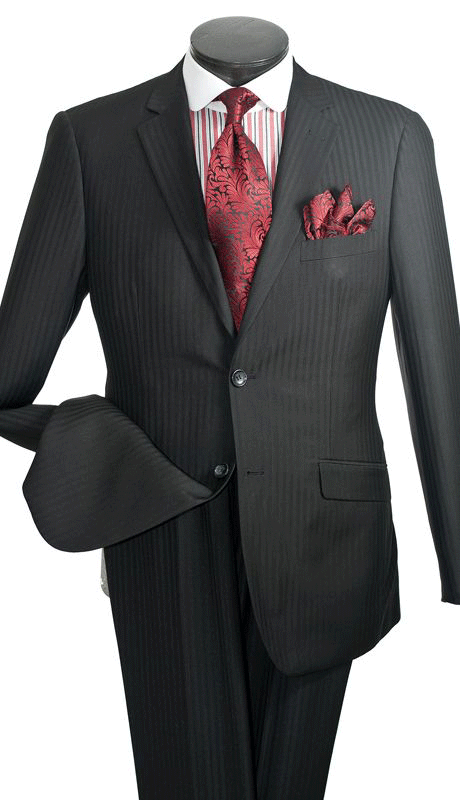Vittorio St. Angelo Suit S2AWC-Charcoal - Church Suits For Less