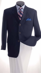 Vittorio St Angelo Dinner Jacket Z733TAC-Navy - Church Suits For Less