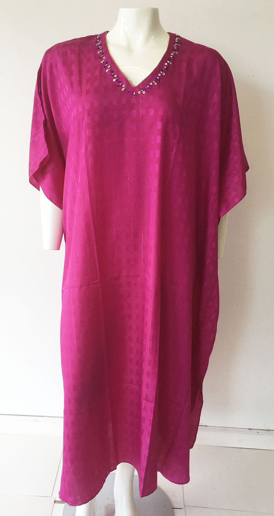 Women Caftan Pink - Church Suits For Less