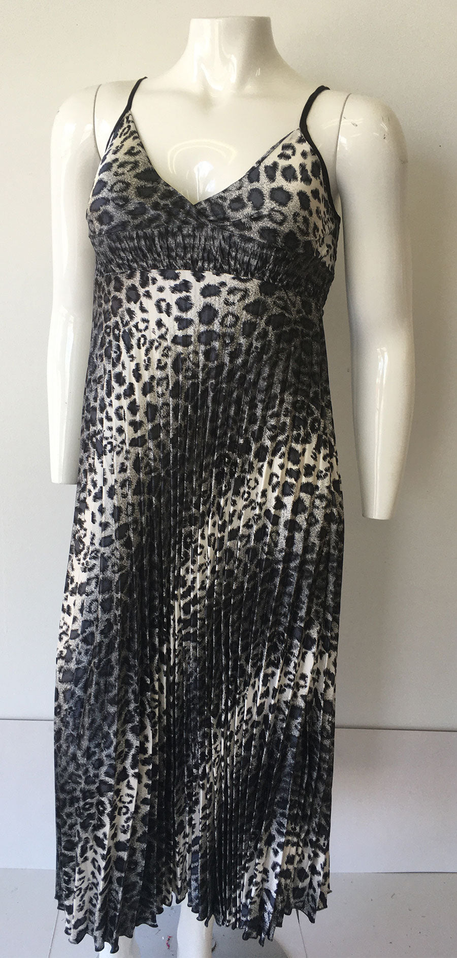 Casual Dress SB256-Leopard/Grey - Church Suits For Less