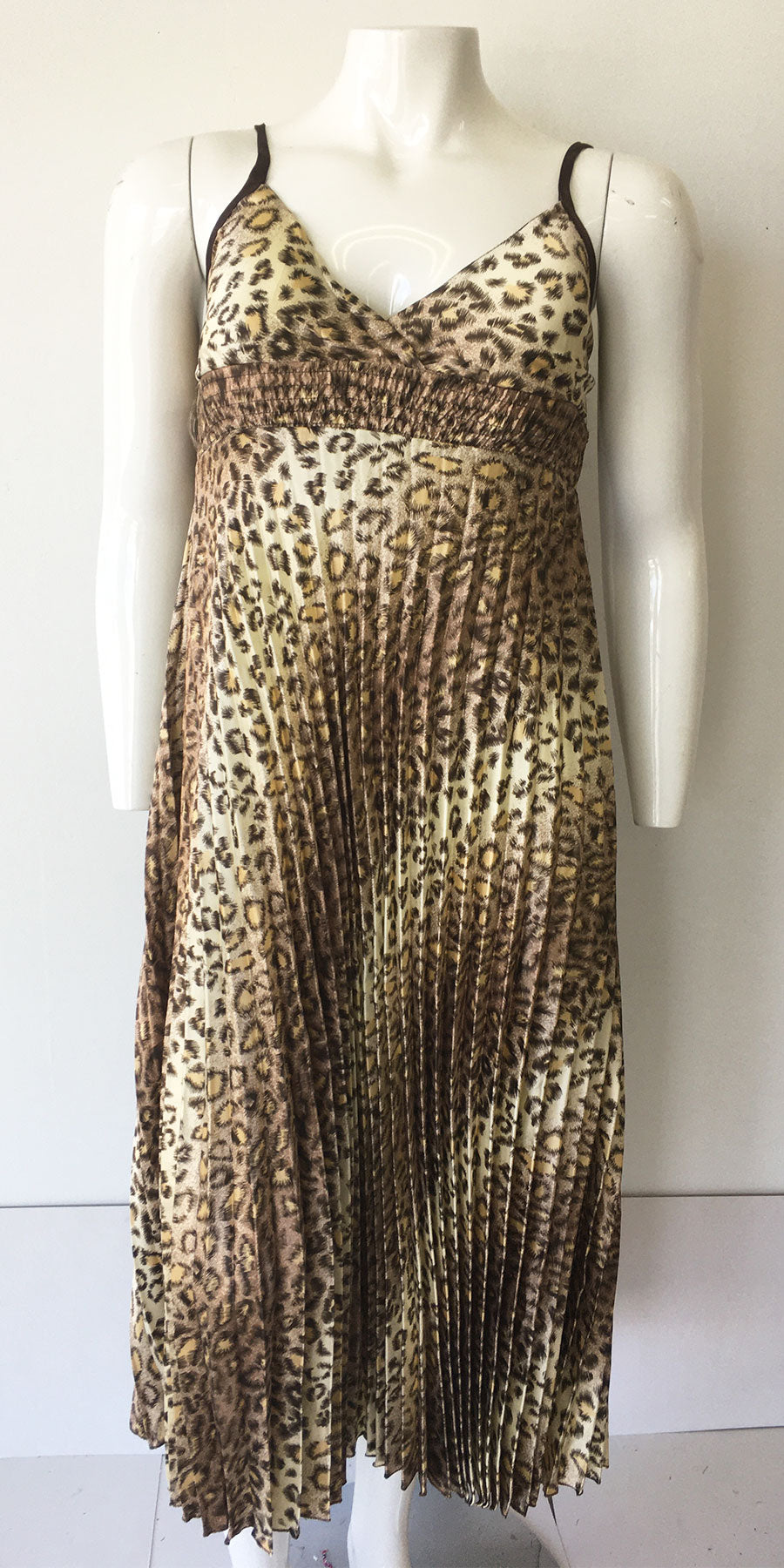 Casual Dress SB256-Leopard - Church Suits For Less