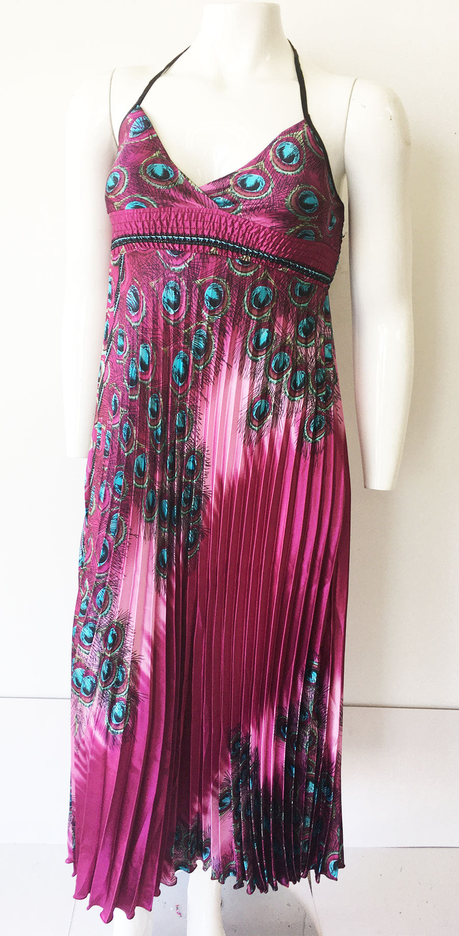 Casual Dress SB257-Magenta - Church Suits For Less