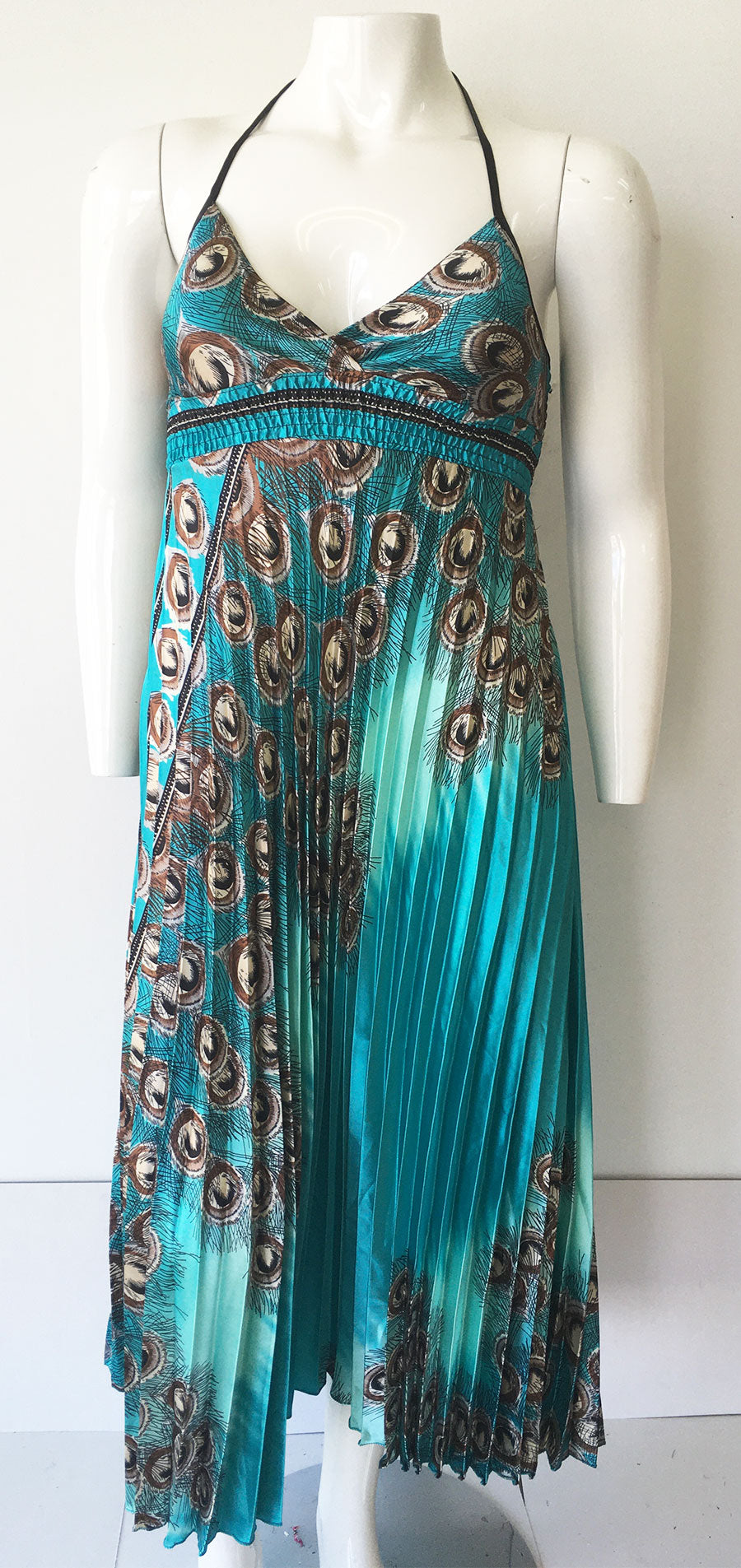 Casual Dress SB257-Turquoise - Church Suits For Less