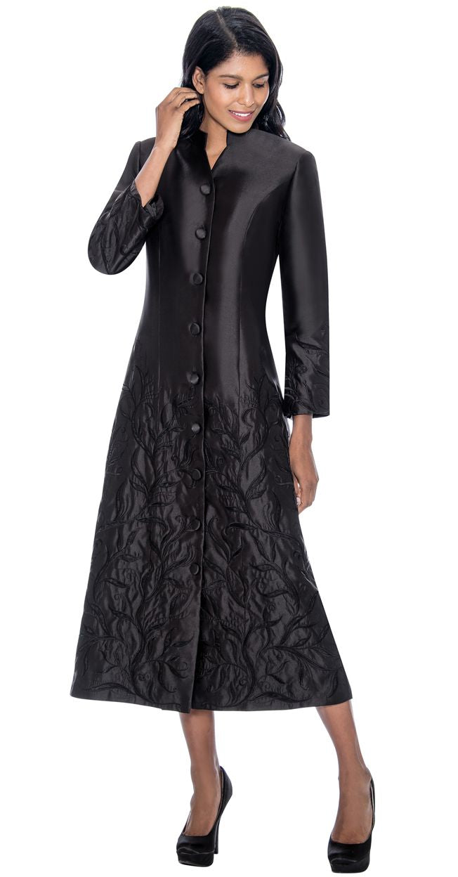 GMI Church Robe RR9121-Black - Church Suits For Less