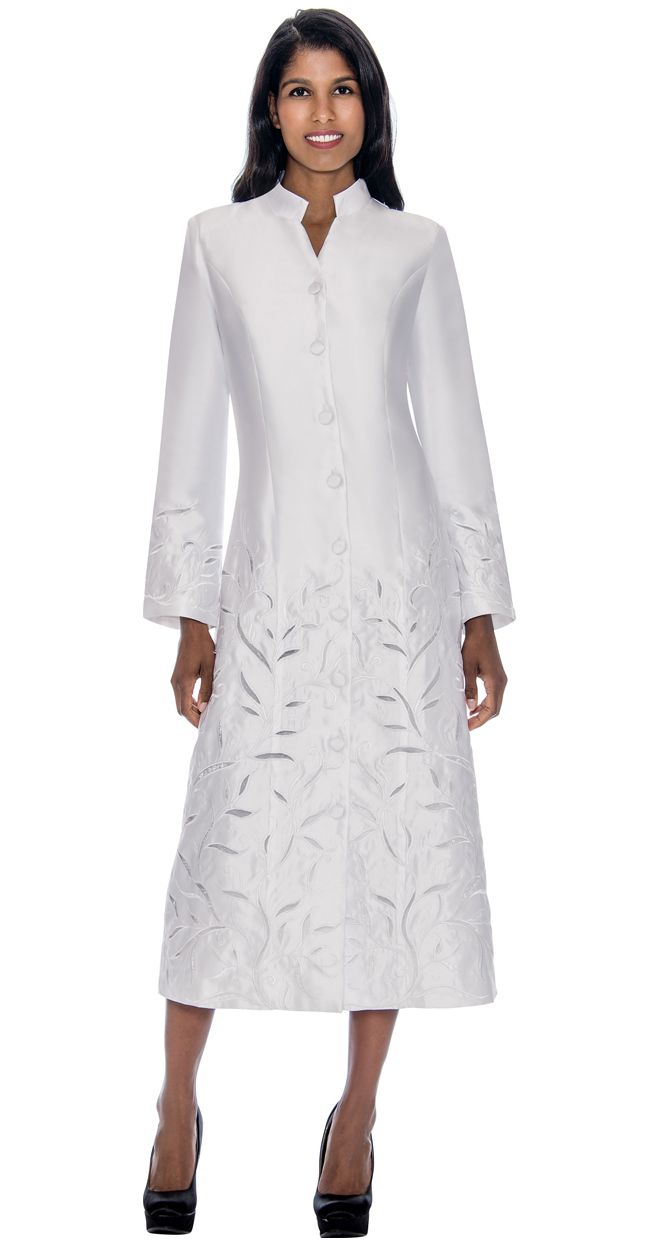 GMI Church Robe RR9121-White - Church Suits For Less