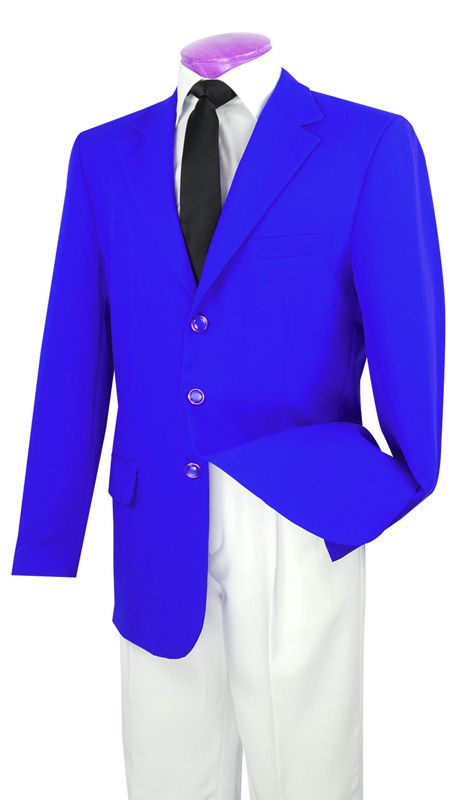 Vinci Men Blazer Z-3PP-Royal - Church Suits For Less
