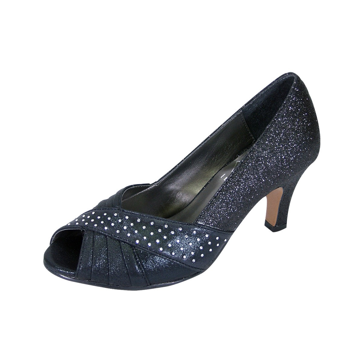 Women Church Shoes DP763 -Black - Church Suits For Less