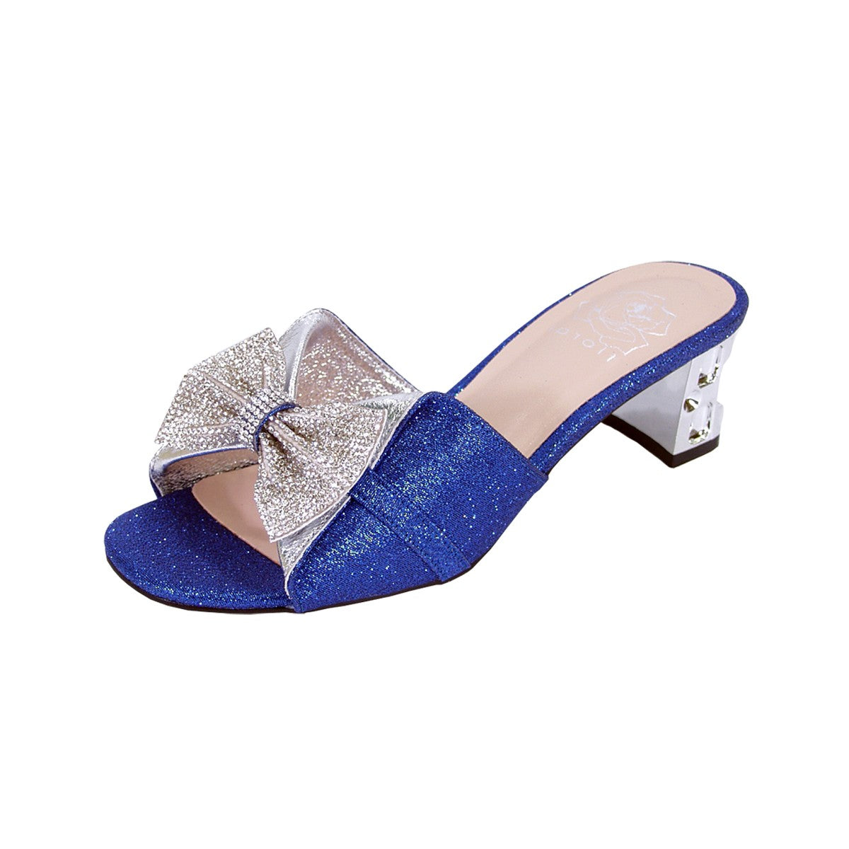 Women Church Shoes DP843-Blue - Church Suits For Less